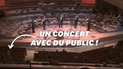 La Philharmonie de Berlin accueille 1000 personnes pour un