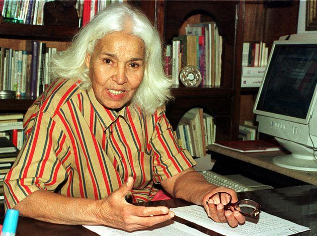 Mort de l'écrivaine égyptienne Nawal al-Saadawi, figure de la lutte pour l'émancipation des femmes (ici...