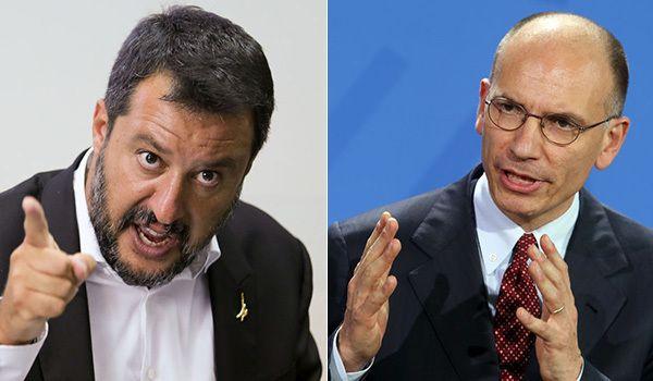 Matteo Salvini e Enrico