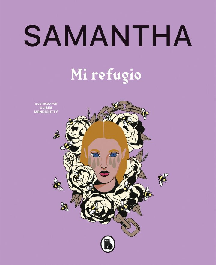 Portada del 'Mi refugio', el primer libro de Samantha.