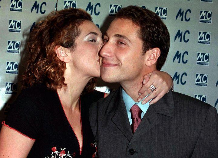 Rocío Carrasco y Antonio David Flores en 1999