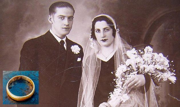 Eugenio Insúa e Irene Serrano, junto a su