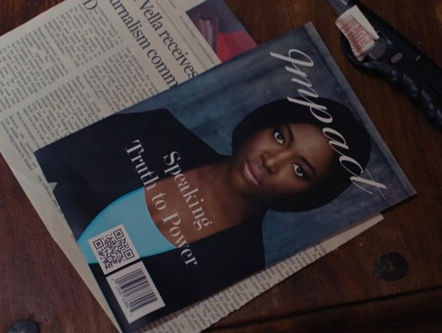 If you scan the QR code on this magazine, it reveals a series of