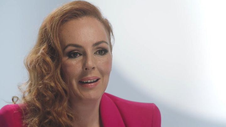 Rocío Carrasco durante el documental de Telecinco 'Rocío. Contar la verdad para seguir viva'.