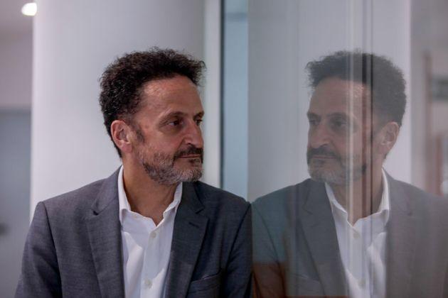 Edmundo Bal, el pasado 28 de agosto en la sede nacional de Ciudadanos, en