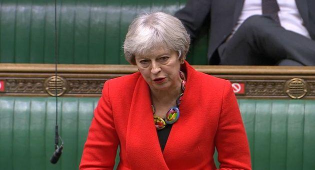Former prime minister Theresa