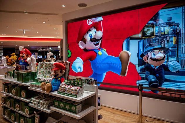 Un magasin de jeux vidéos à Tokyo le 1er février