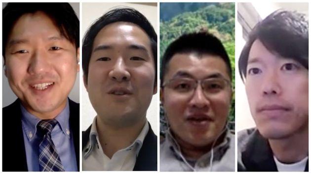 (左から)立川さん、五十嵐さん、前川さん、板橋さん