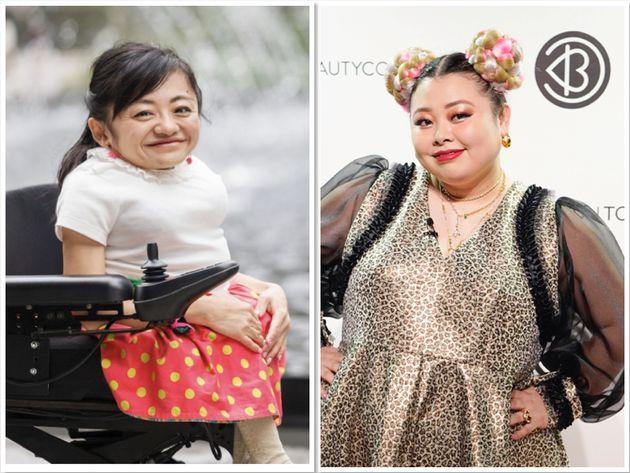 伊是名夏子さんと渡辺直美さん