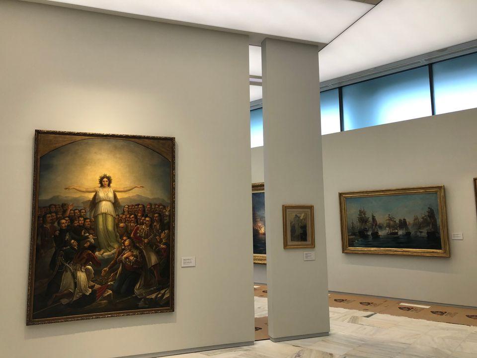 Η ανακαινισμένη Εθνική Πινακοθήκη μέσα από 10
