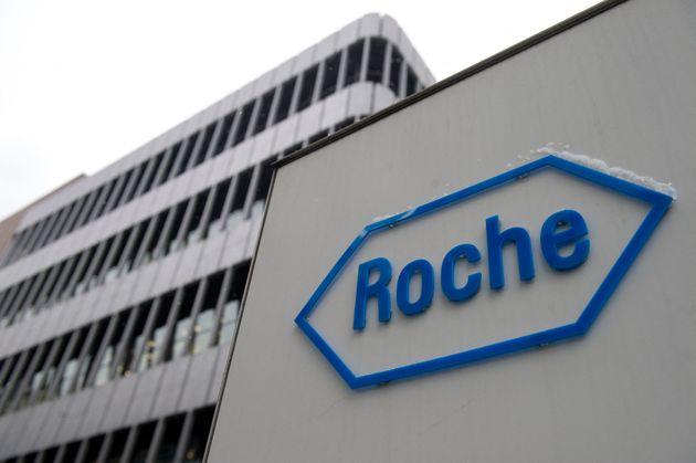 Le géant pharmaceutique suisse Roche (ici le logo) annonce des résultats prometteurs pour un traitement