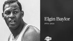 Elgin Baylor, légende des Lakers et de la NBA, est