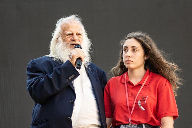 Vincenzo Agostino, padre del policía Antonino Agostino, en un acto por el aniversario del asesinato de...
