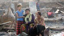 Fire At Rohingya Refugee Camp Destroys Hundreds Of Shelters
