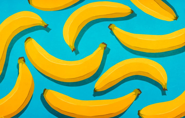 Bananas are a major snack powerhouse, containing fiber, magnesium and healthy fat.