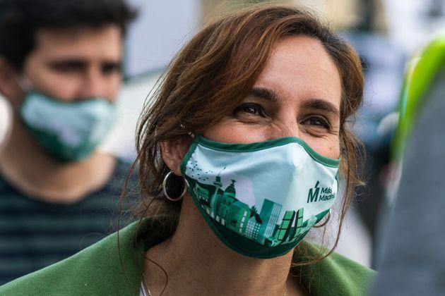 La diputada Mónica García, candidata de Más Madrid a las
