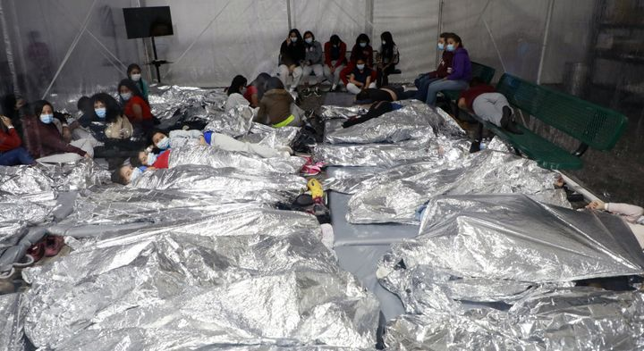 Temporary processing facilities in Donna, Texas, safely process family units and unaccompanied alien children (UACs) encounte