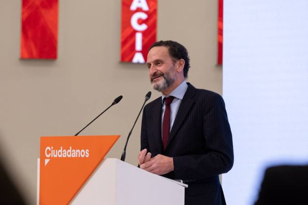 El diputado Edmundo Bal, candidato de Ciudadanos a las elecciones