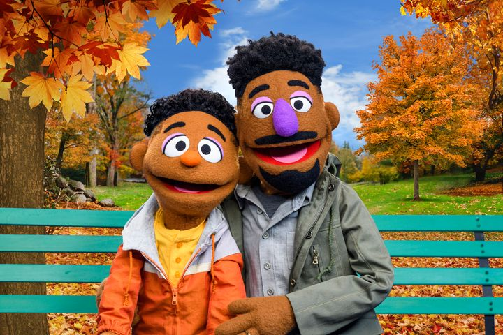 "Wesley and Elijah Walker made their ""Sesame Street"" debut in ""Explaining Race,"" a digital segment that was released on M"