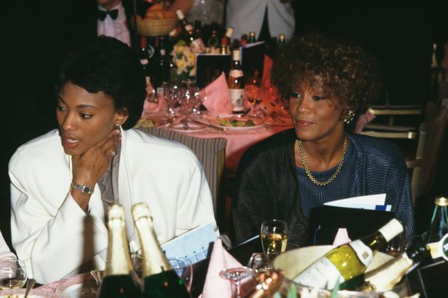 Robyn Crawford (left) and Whitney Houston in