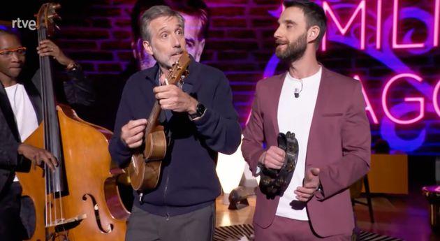 Emilio Aragón y Dani Rovira en 'La Noche