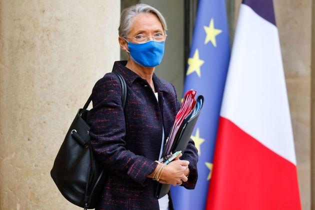 Elisabeth Borne (ici le 27 janvier 2021) est sortie de l'hôpital