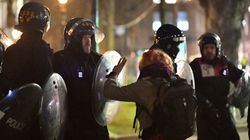 Police Drag Man By The Hair On Second Night Of 'Kill The Bill' Protests In