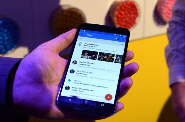 Les smartphone Android ont été touchés par une panne (Photo d'illustration d'un...