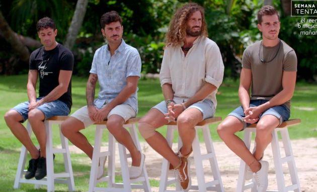 Captura del programa final de 'La isla de las