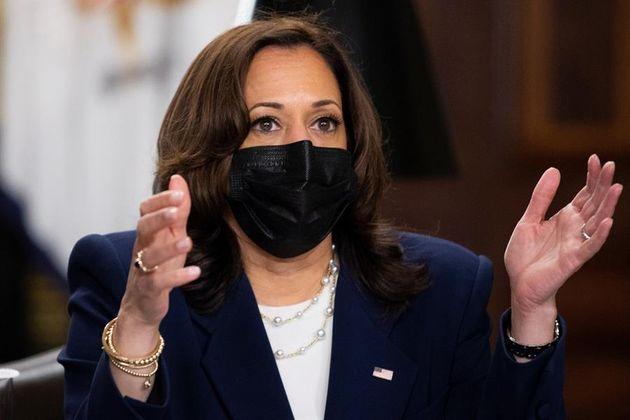 La vicepresidenta de EEUU, Kamala