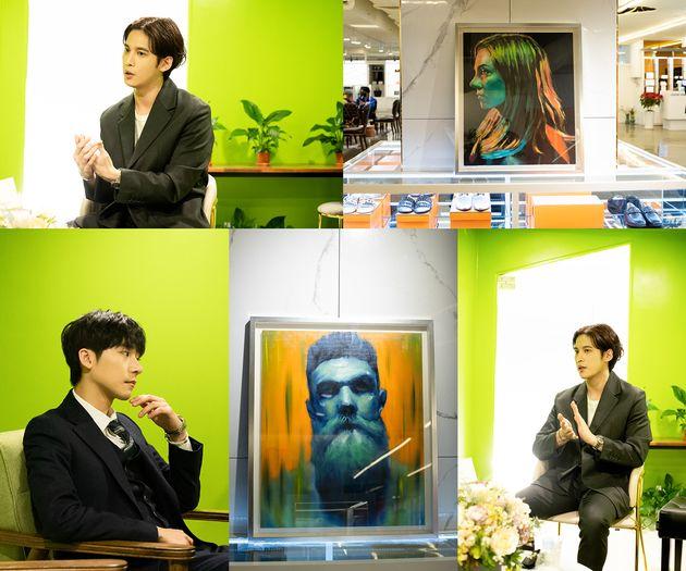 배우 박기웅이 화가로