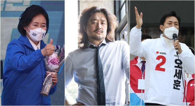 박영선·오세훈 두 서울시장 후보가 방송인 김어준을 두고 설전을