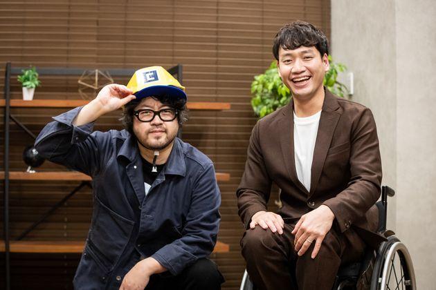 左からAR三兄弟・川田十夢さん、YouTuber寺田ユースケさん
