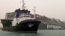 Cargo Ship Charted X-Rated Route Before Getting Stuck In Suez Canal