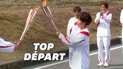 Le relais de la flamme olympique lancé à