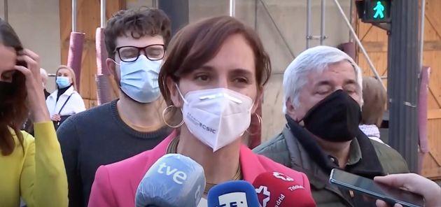 Mónica García, candidata de Más Madrid a las elecciones madrileñas del 4 de