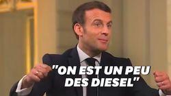 Face à Nikos Aliagas, Emmanuel Macron reconnait qu'on n'a pas été vite sur la