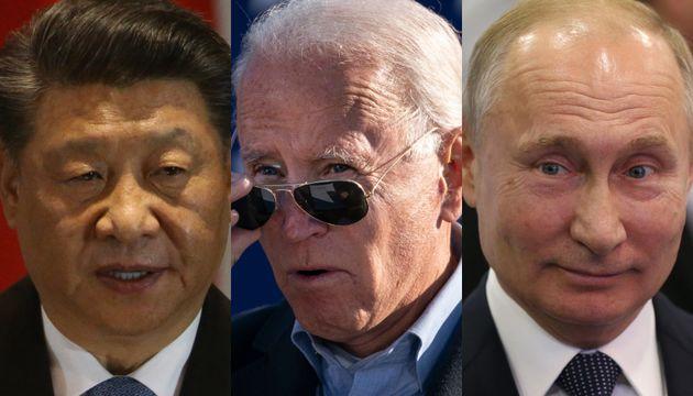 Xi Jinping, Joe Biden y Vladimir