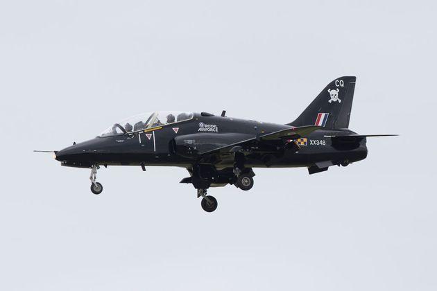Συντριβή μαχητικού αεροσκάφους του βρετανικού Πολεμικού Ναυτικού στην