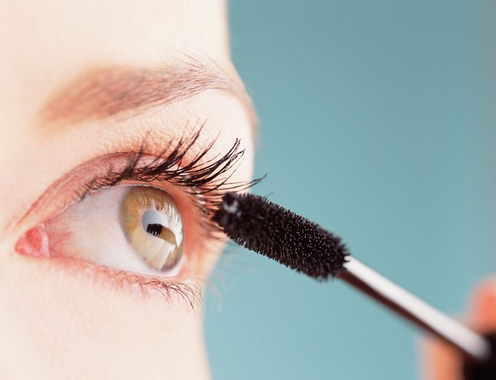 That mascara wand is dangerously close to the lining of your eyelids, which functions as one of the main mucous membranes for the entire body.