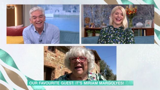 As always, Miriam had the This Morning team howling with her