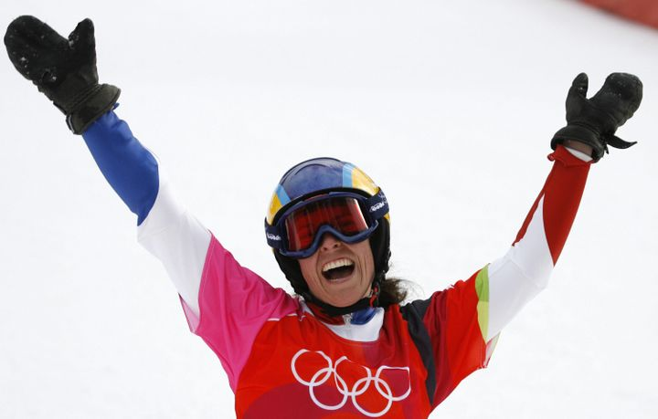 Pomagalski finished sixth in the Snowboard Parallel Giant Slalom race in the Turin Games.