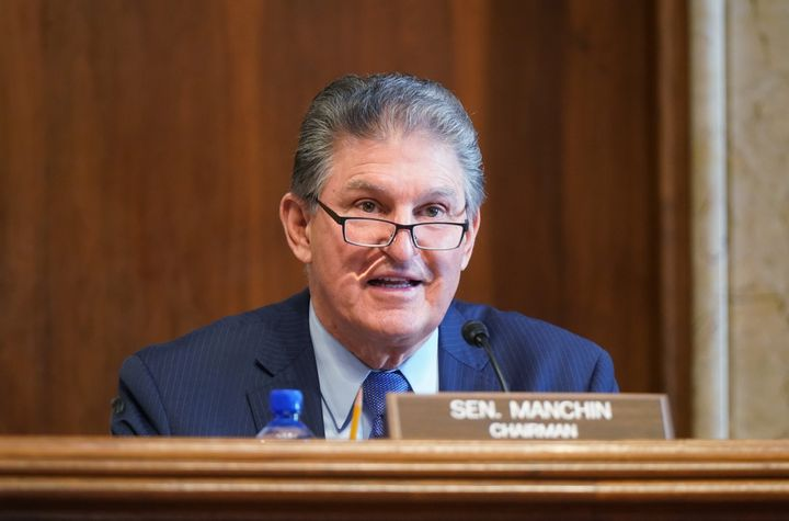 Sen. Joe Manchin (D-W.Va.) backed elements of the For The People Act in a statement issued on March 25.