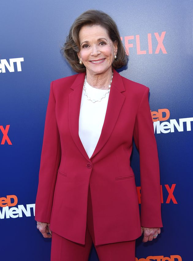 Jessica Walter at the premiere of Arrested Development series