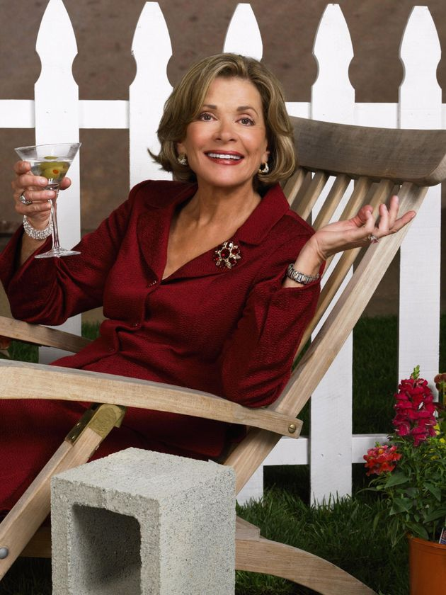 Jessica Walter in character as Lucille Bluth in