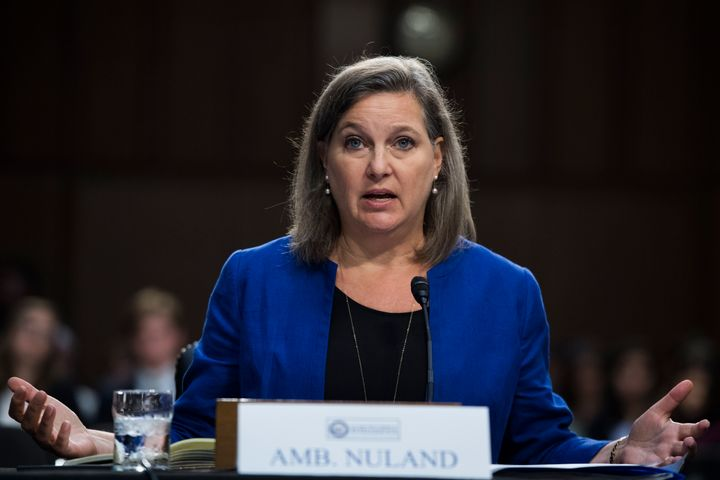 Biden has tapped Victoria Nuland to the third-ranking job at the State Department. Though she is a former diplomat, many care