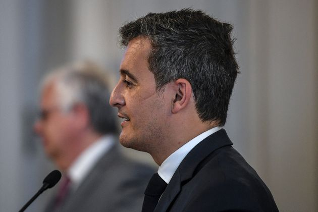 Gérald Darmanin, ici à Lisbonne ua Portugal, le 23 mars