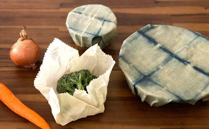 Sサイズはお茶碗に、Mサイズはブロッコリーに、Lサイズは直径22cmほどの大皿に使いました。
