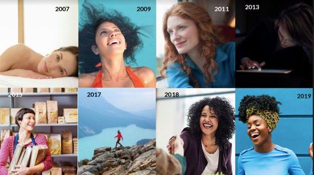 2007년부터 2019년까지 전 세계적으로 '여성'이라는 단어로 검색했을 때 가장 많이 판매된
