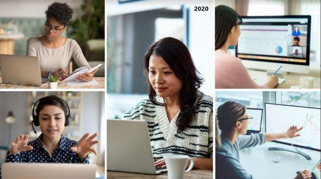 2020년 가장 많이 다운로드된 여성